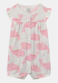 Carter's - SUR WHALE - Jumpsuit - grey/pink - 0