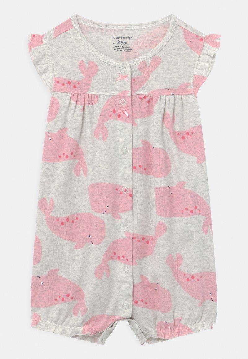 Carter's - SUR WHALE - Jumpsuit - grey/pink