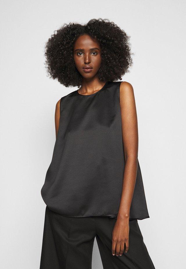 TELA - Bluse - schwarz