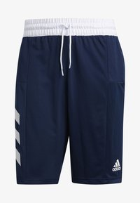 adidas Performance - SPORT 3-STRIPES SHORTS - Sports shorts - blue