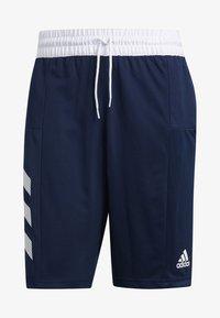 adidas Performance - SPORT 3-STRIPES SHORTS - Sports shorts - blue - 6