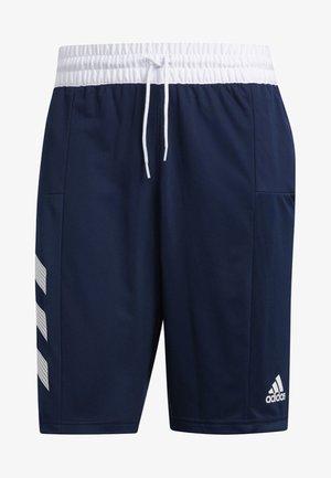 SPORT 3-STRIPES SHORTS - Sports shorts - blue