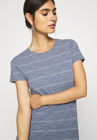 GAP - CREW MIDI DRESS - Jersey dress - grey - 4