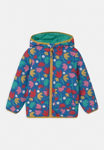 REVERSIBLE TOASTY TRAIL FLORAL - Light jacket - blue