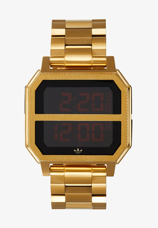 ARCHIVE MR2 - Digital watch - gold-coloured