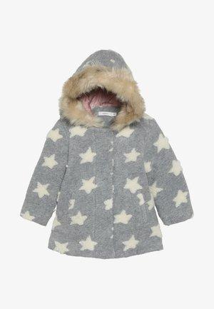 NMFMATILDA  COAT - Zimní kabát - grey melange