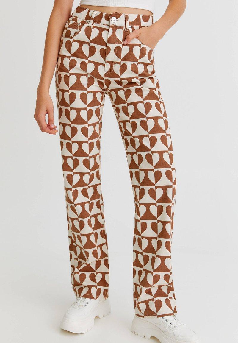 PULL&BEAR - Straight leg jeans - brown