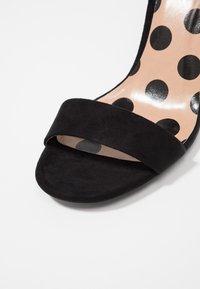 New Look - SWAGGLE  - Sandalen met hoge hak - black - 2