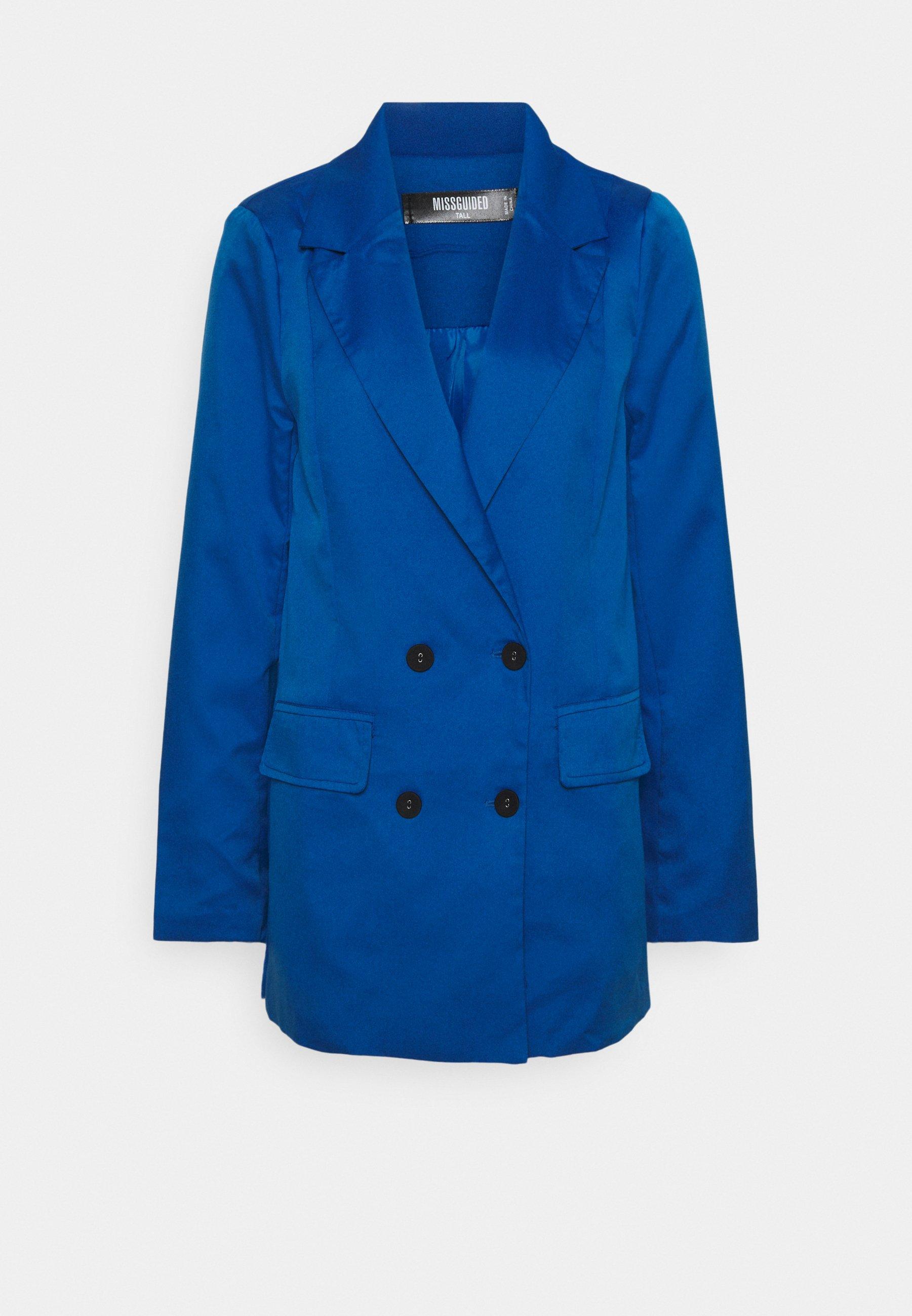 DOUBLE BREASTED JACKET Blazer blue