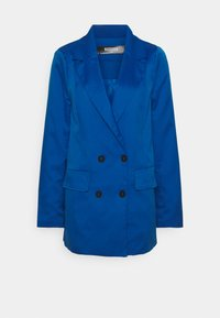 Missguided Tall - DOUBLE BREASTED JACKET - Blazer - blue - 0