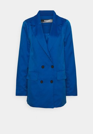 DOUBLE BREASTED JACKET - Blazer - blue