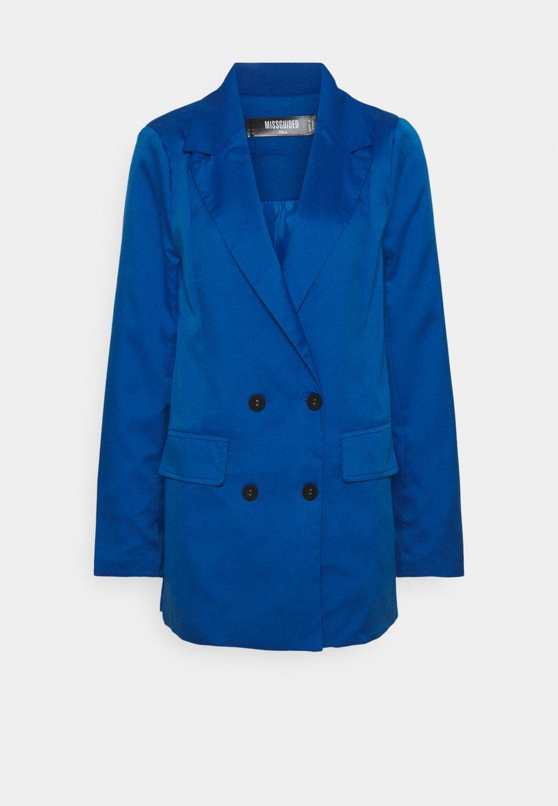 Missguided Tall - DOUBLE BREASTED JACKET - Blazer - blue
