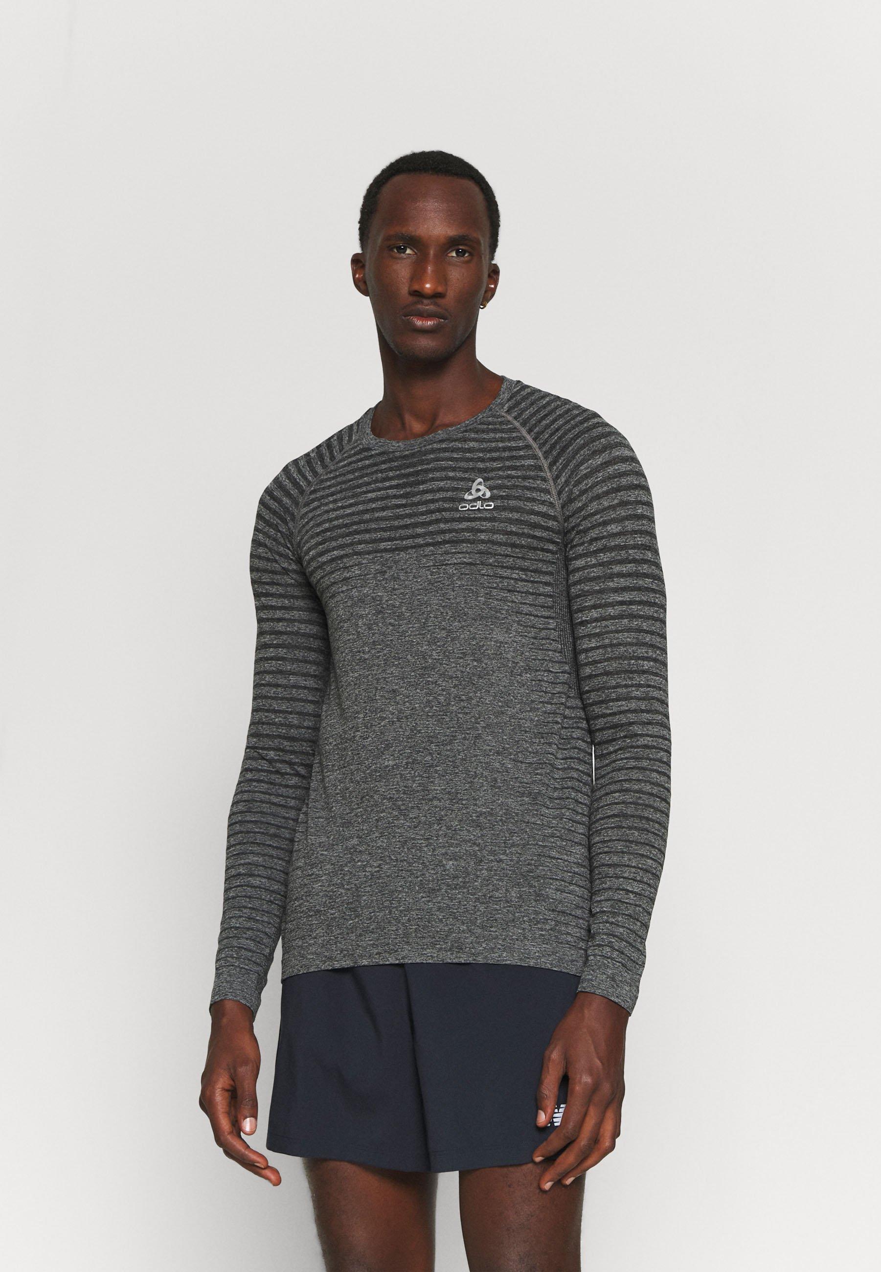 Men CREW NECK ESSENTIAL SEAMLESS - Sports shirt