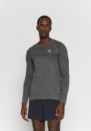 CREW NECK ESSENTIAL SEAMLESS - T-shirt de sport - grey melange
