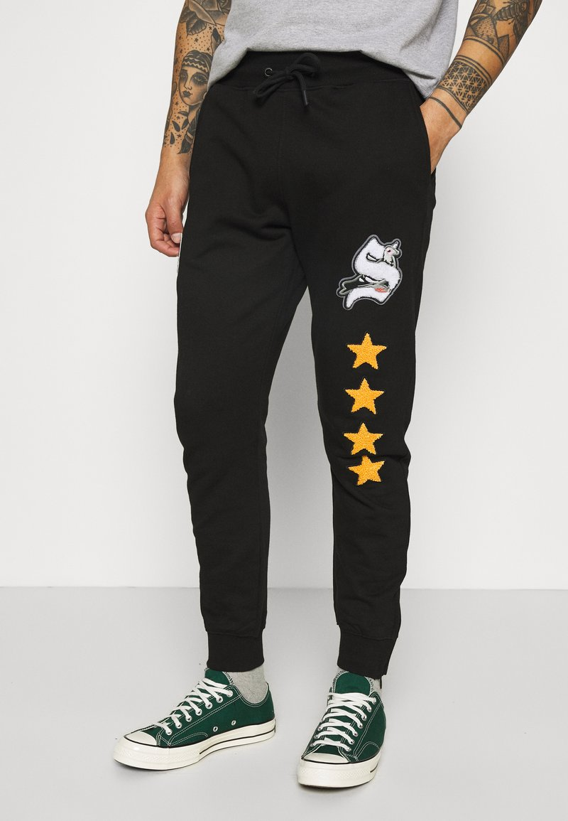 STAPLE PIGEON - UNISEX - Tracksuit bottoms - black