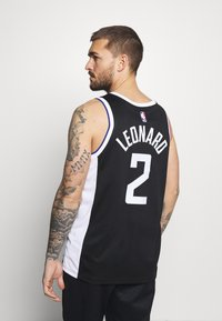 Nike Performance - NBA LOS ANGELES CLIPPERS KAWHI LEONARD CITY EDITION SWINGMAN - Article de supporter - black/white - 2