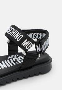 MOSCHINO - EXCLUSIVE UNISEX - Sandals - black - 5