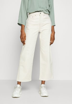 Relaxed fit jeans - veer ecru