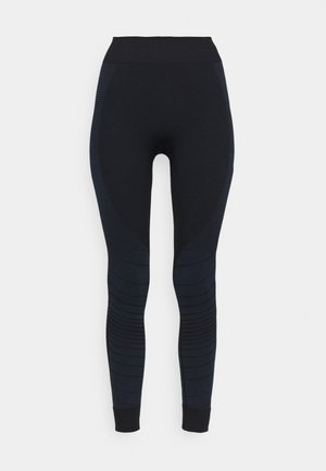 SKI BASE LAYER BOTTOM - Base layer - navy blue illusion