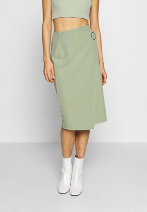 WEST SKIRT - Pencil skirt - sage