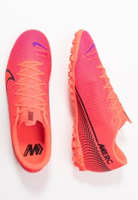 Nike Performance - MERCURIAL VAPOR 13 ACADEMY TF - Astro turf trainers - laser crimson/black - 1