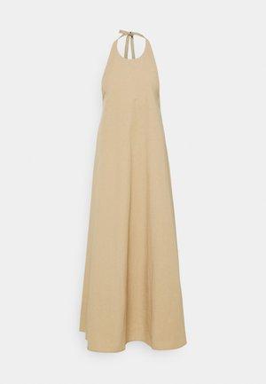 LEYLA DRESS - Maxi dress - beige