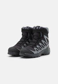 Salomon - XA PRO V8 WINTER CSWP UNISEX - Winter boots - black/phantom/quiet shade - 1