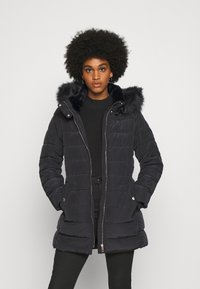 ONLY - ONLCAMILLA QUILTED  - Winter coat - black - 0