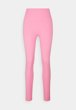 HIGH WAISTED SEAMLESS  - Leggings - bubblegum