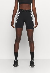 adidas Performance - CYCLING SHORT  - Tights - black/white - 0