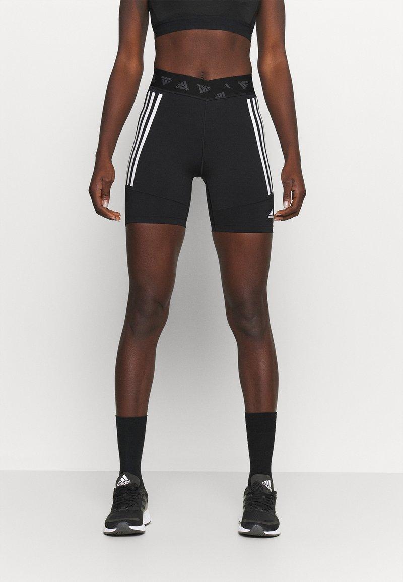 adidas Performance - CYCLING SHORT  - Tights - black/white