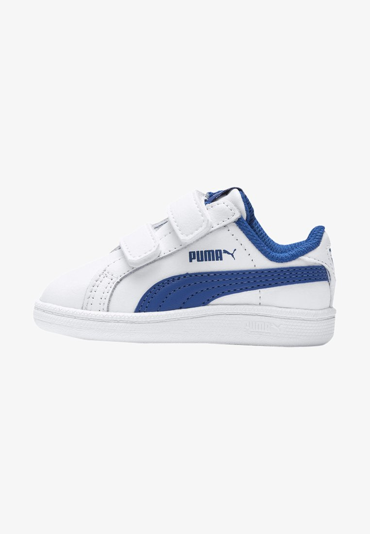 Puma - Baby shoes - white-lapis blue