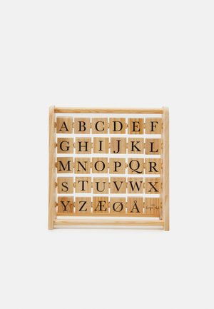 ABC BLOCK FRAME UNISEX - Wooden toy - multi