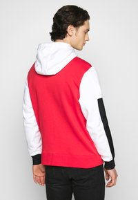 Nike Sportswear - Sudadera con cremallera - white/university red/black - 2