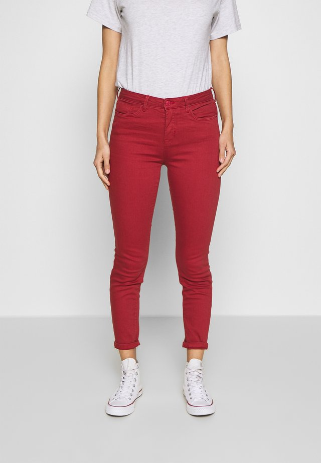 Jeans slim fit - medium brown