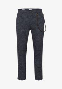 Solid - TRAVIS - Trousers - grey mel - 5