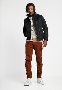 G-Star - ARC 3D SLIM FIT COLORED - Trousers - roast - 1