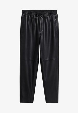 APPLE - Trousers - černá