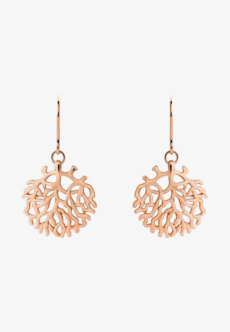 Orphelia - SATIN - Orecchini - rose gold-coloured