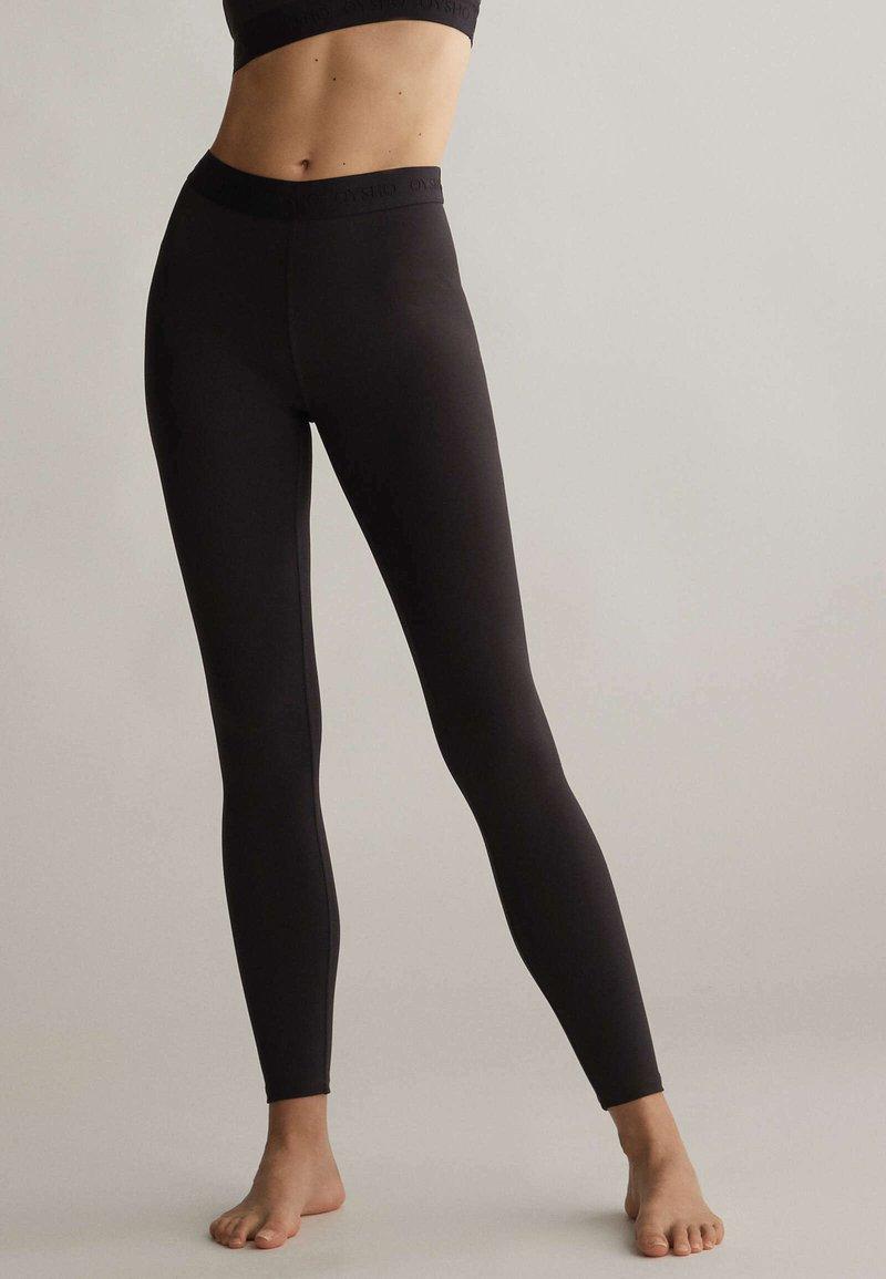 OYSHO - Collants - black