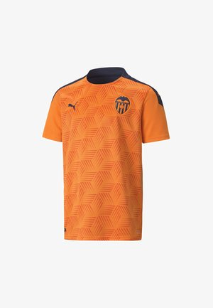 VALENCIA CF AWAY REPLICA  - Klubbkläder - vibrant orange-peacoat