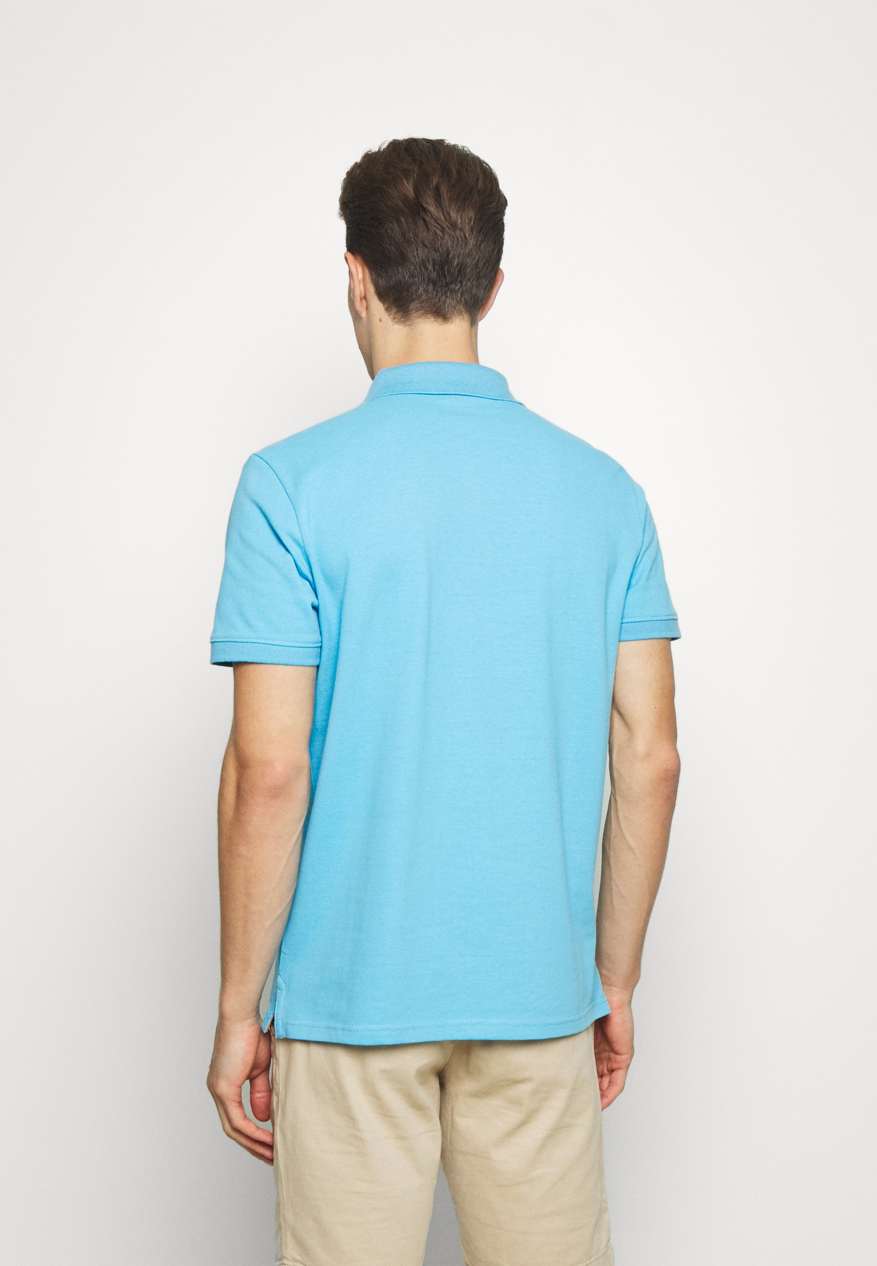 TOM TAILOR BASIC WITH CONTRAST - Polo shirt - north blue m95iy