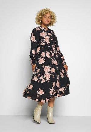 MNANNA DRESS - Košilové šaty - black