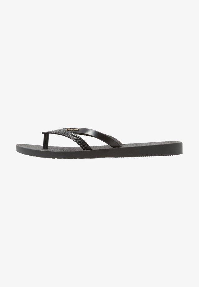 BOSSA - Pool shoes - black