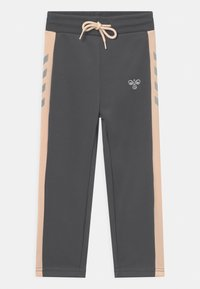 Hummel - DROP UNISEX - Trainingsanzug - dark grey/light pink/silver-coloured - 2