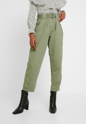 NATALIE UTILITY - Trousers - khaki