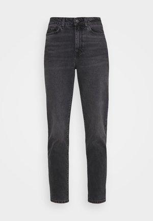 Mom fit jeans - Jeans Skinny Fit - black denim