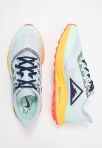 Nike Performance - AIR ZOOM PEGASUS 36 TRAIL - Zapatillas de trail running - aura/blackened blue/light armory blue/mint foam/speed yellow/laser crimson - 1