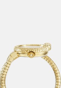 Just Cavalli - GOLD & BLACK SINGLE WRAP WATCH - Hodinky - black sunray (inner)/ champagne sunray (outer) - 2
