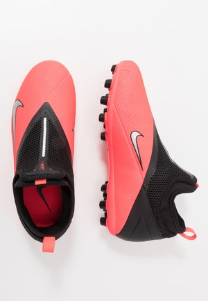 PHANTOM VISION 2 ACADEMY AG - Moulded stud football boots - laser crimson/metallic silver/black